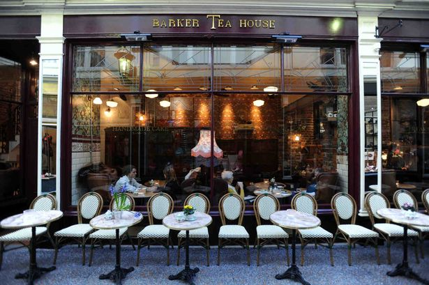 Barkers Teahouse Cardiff