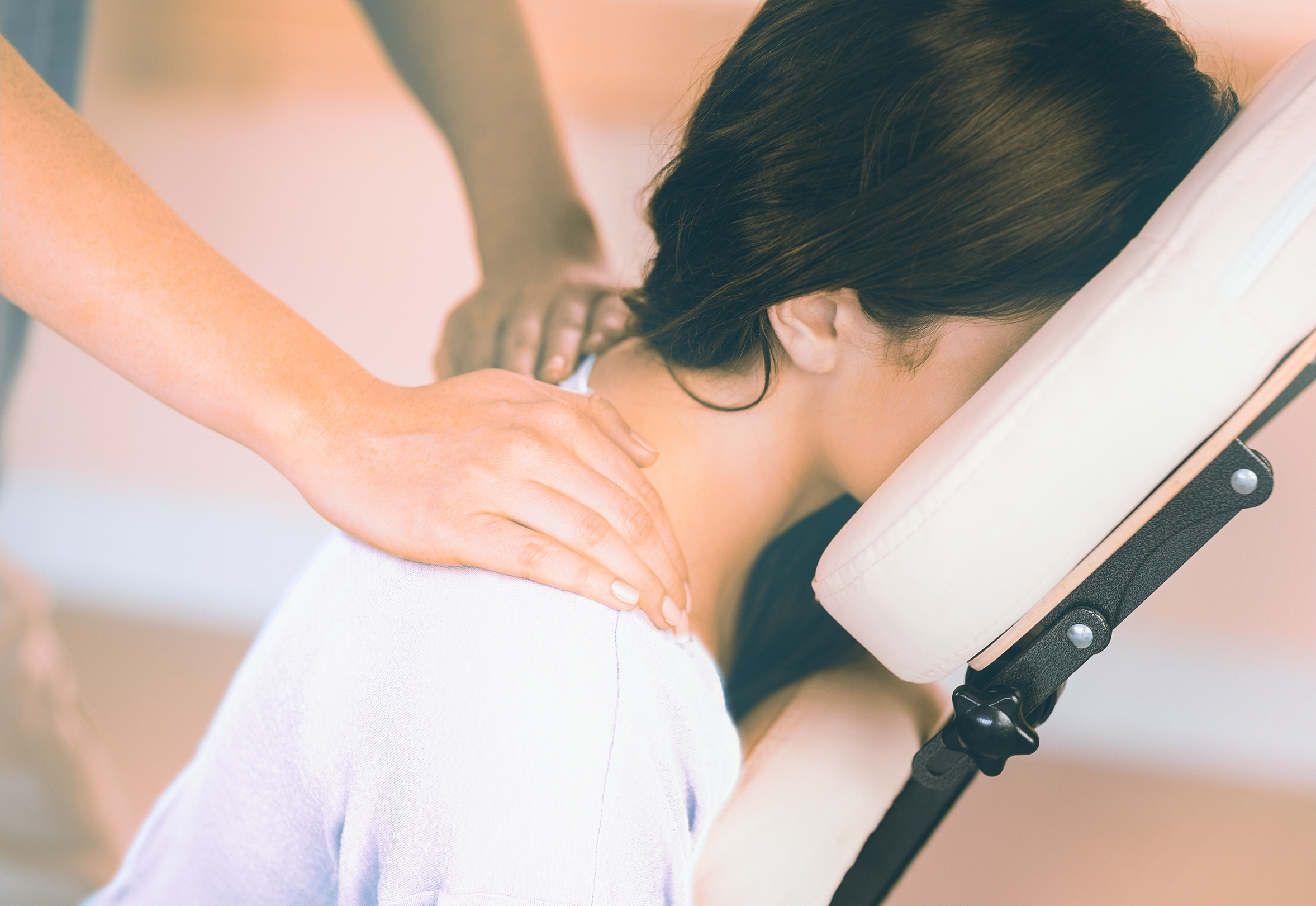 Office Massages with glo pamper