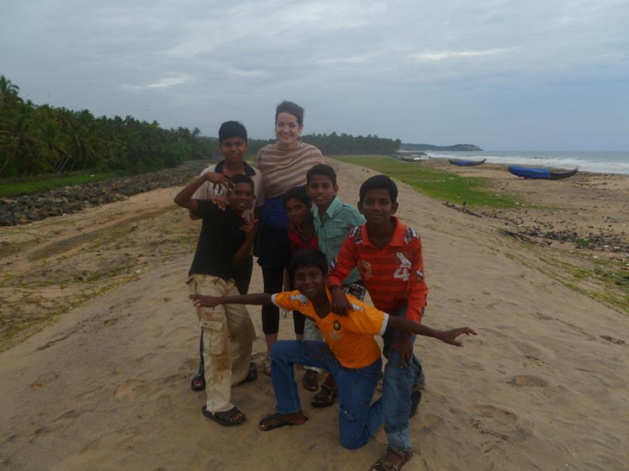Volunteering in Kerala, India