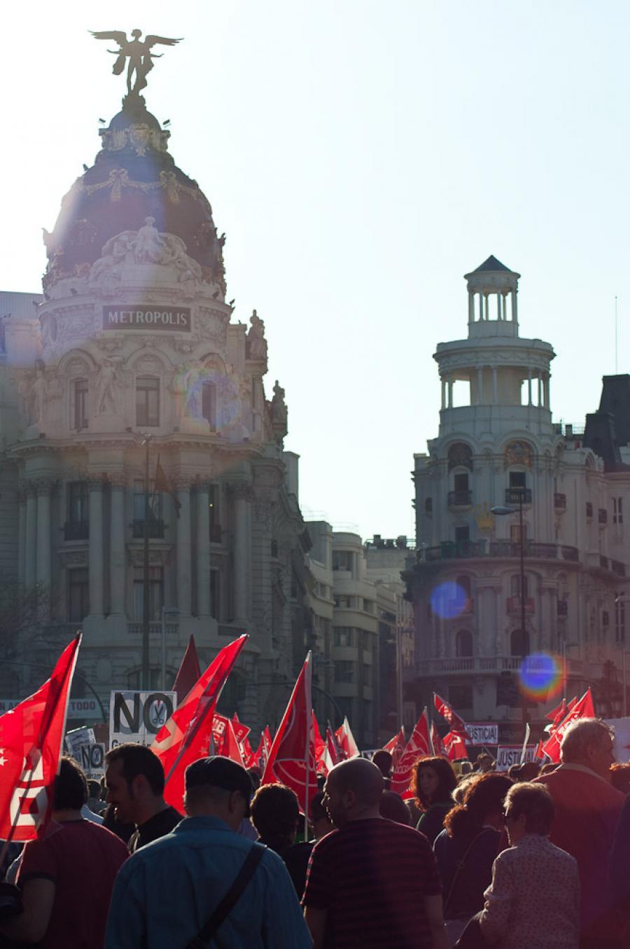 Huelga! Strikes in Madrid