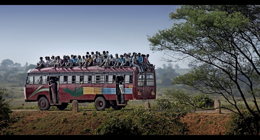 The Long Way Down. Bus rides: how to cope