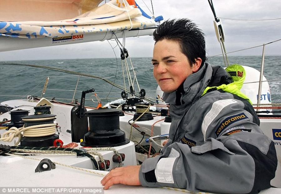 Ellen MacArthur speaking French