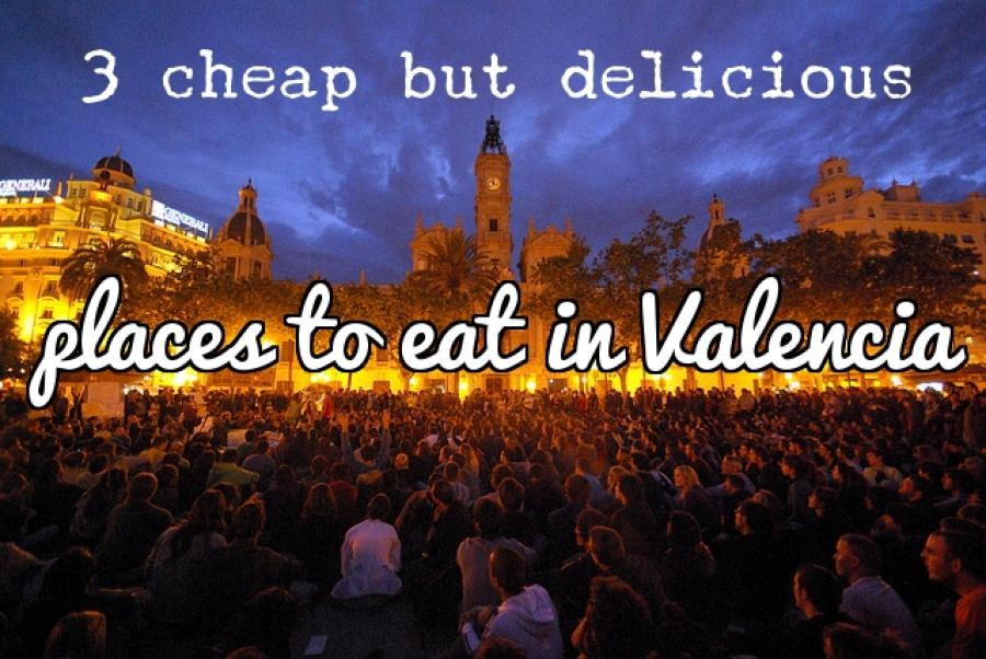 Three cheap places to eat in Valencia