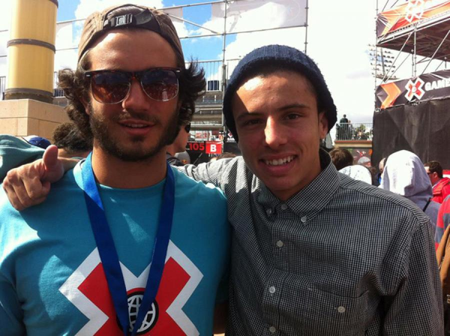 Volunteering at the X Games - the benefit of being bilingual!