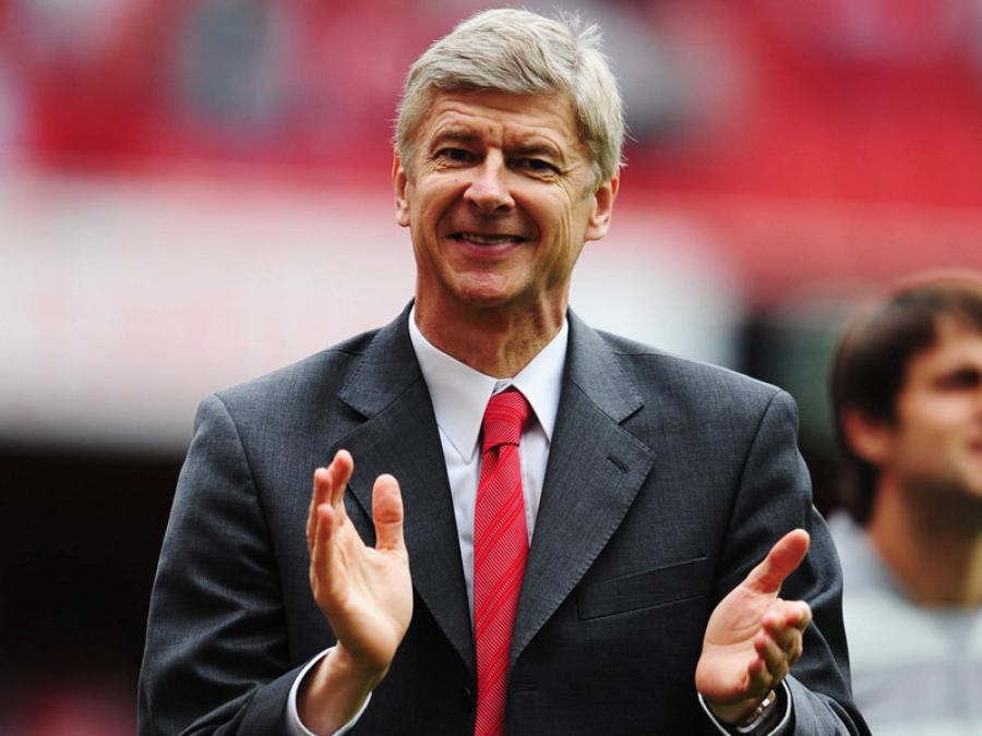 Arsène Wenger speaking about the importance of languages