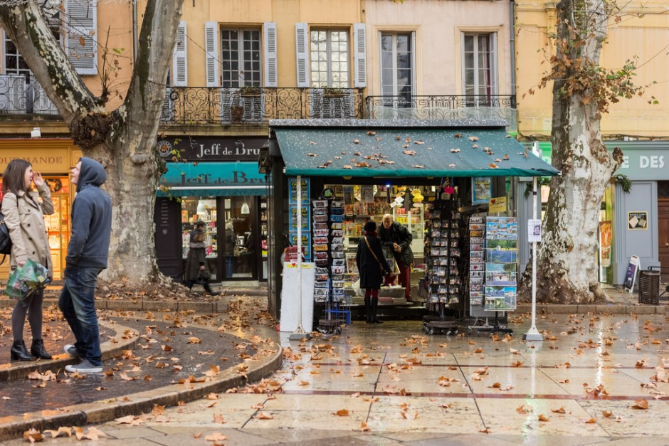 The Mole Diaries: Aix-en-Provence (Volume 6)