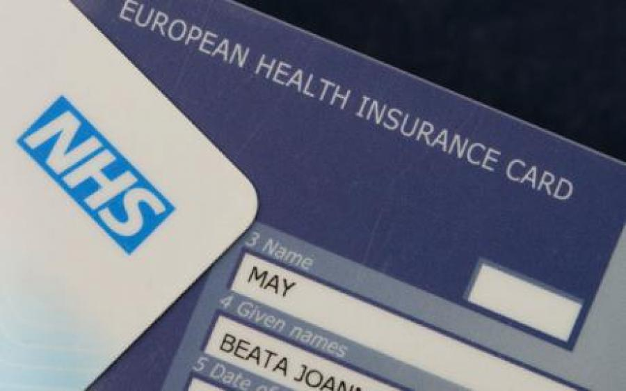 Get a European Health Insurance (EHIC) card