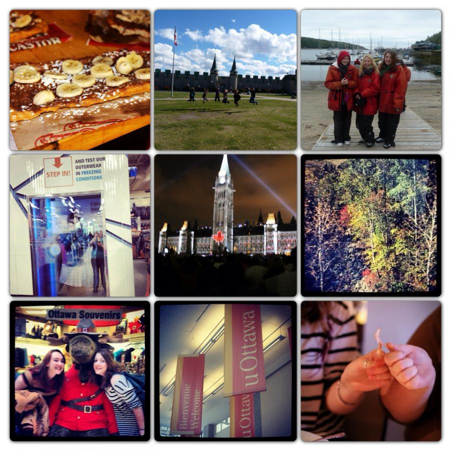 Nine pictures to sum up one month of my Year Abroad in Canada