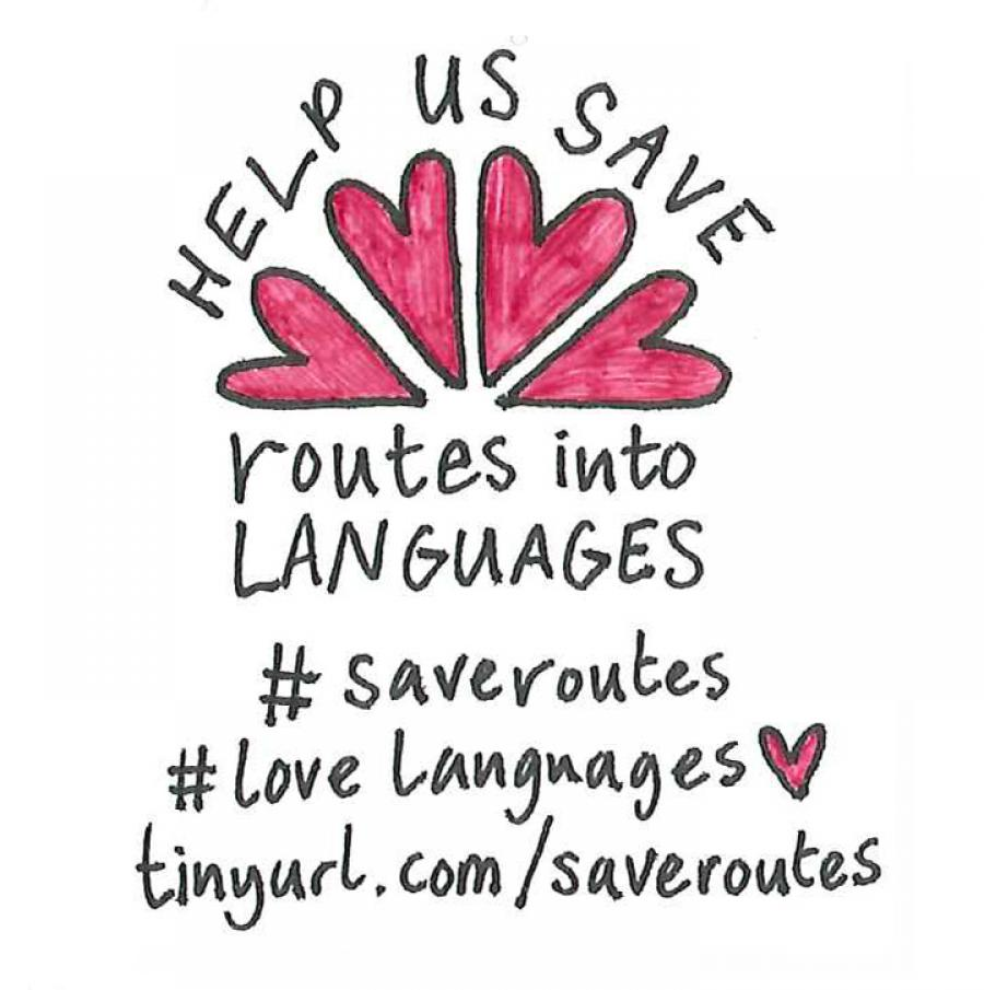 Help us save Routes into Languages
