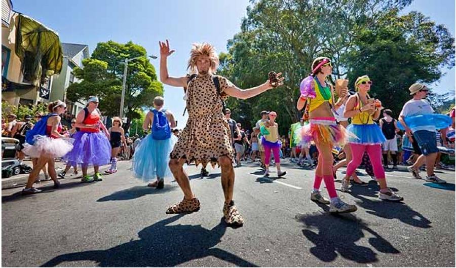 Fancy dress Fun Runs worldwide