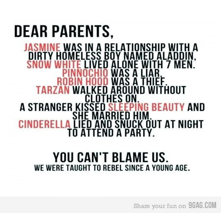 A message to my parents. Things they learnt the hard way when their daughter started her Year Abroad.