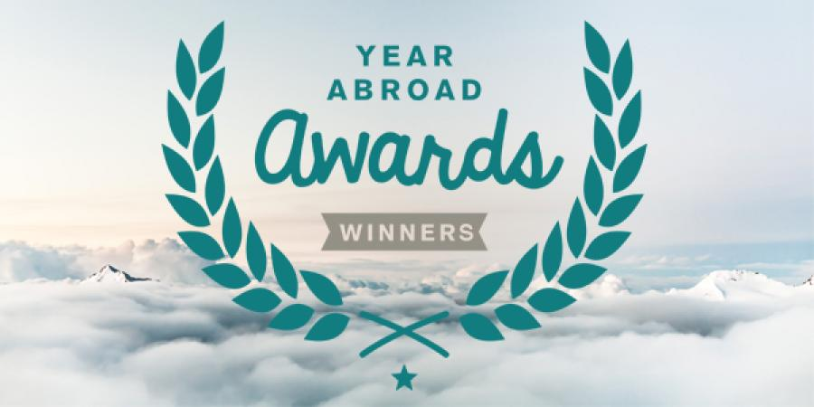 The Year Abroad Awards 2015 Winners
