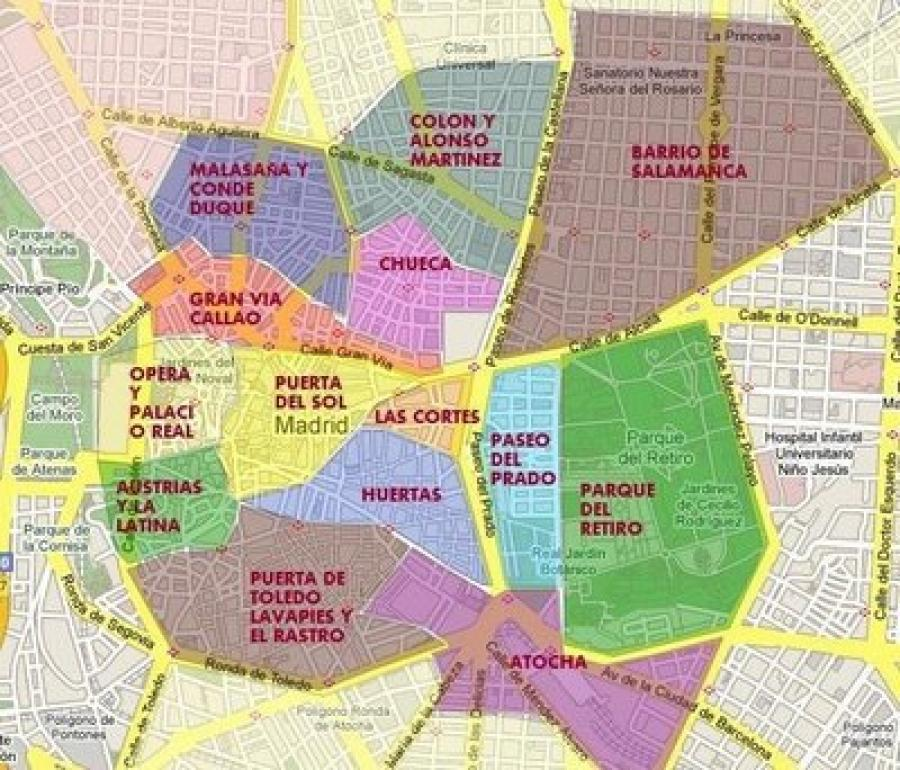 Where to live in Madrid - a guide to the barrios