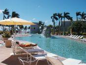 Hotel pool by olliethebastard