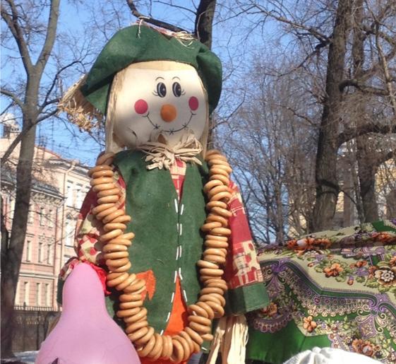 Maslenitsa doll