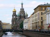 Cathedral of Our Savior on the Spilled Blood, St Petersburg by BBM Explorer