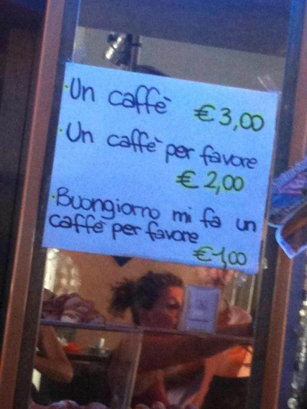 un-caffe-per-favore