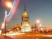 Moscow by Night by nickma