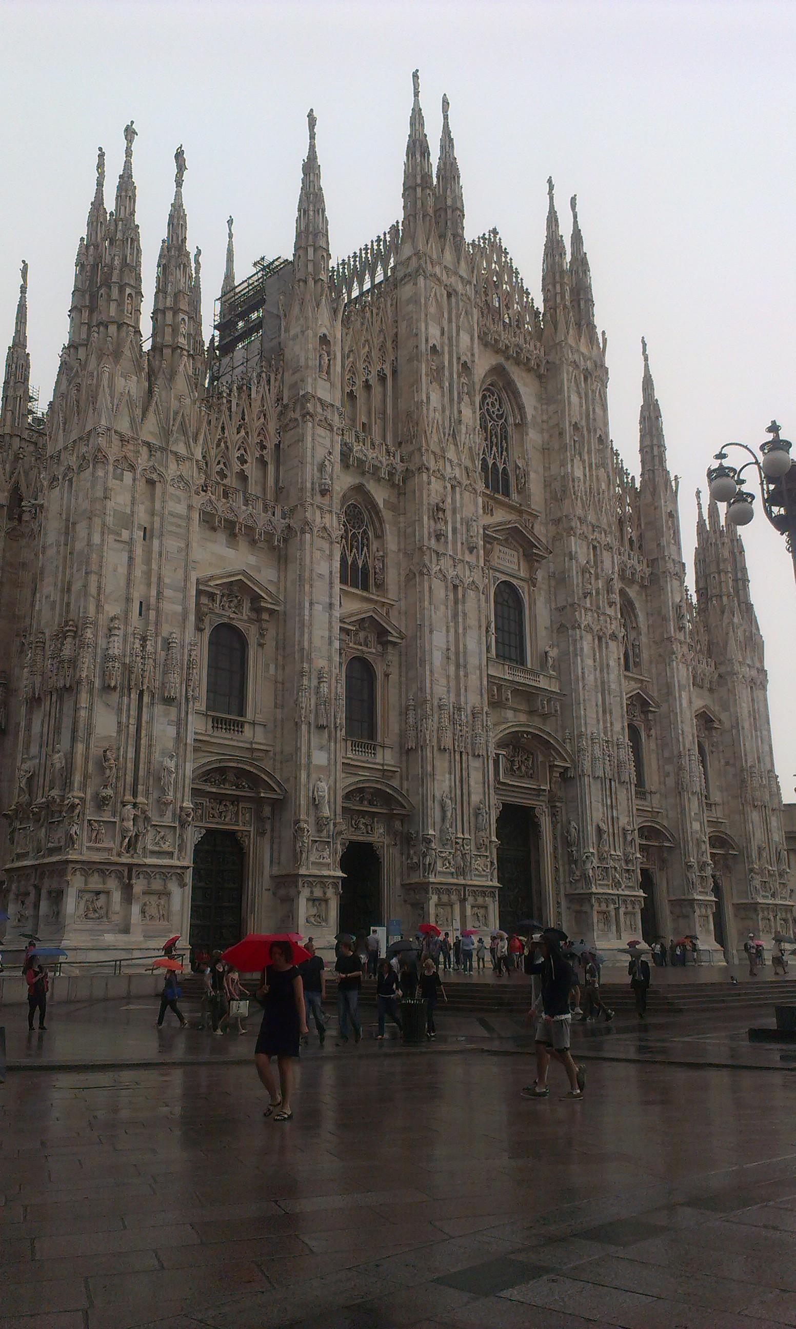An Unexpected Rainy Milan