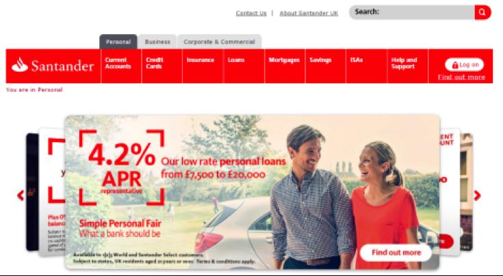 App - Santander
