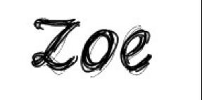 Zoe - signature