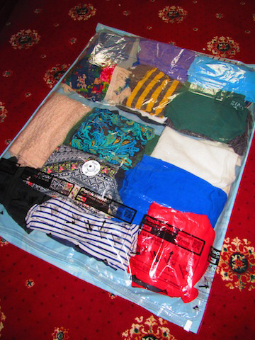 Before vacuum packing