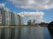 Salford Quays Manchester by iknow-uk