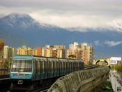 The metro in Santiago by Consulta + Rieles