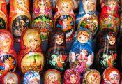 Matryoshka dolls, Moscow by neiljs