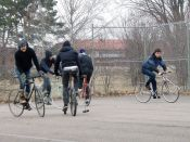 Uppsala Bike Polo by wa.pean
