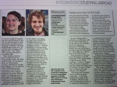 TYA in the Daily Telegraph