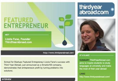 ThirdYearAbroad on SchoolForStartups