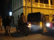 You wouldn't want to run into a Rickshaw, Cow, Car AND Motorbike in the middle of the night! by edmittance