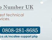 McAfee Help Number UK 0808-281-8685