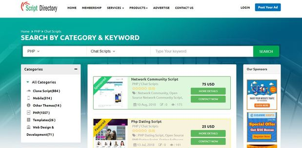 php Chat Script :: Live Chat Software