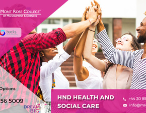 Importance HND health and social care courses in London