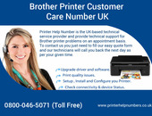 Brother Toll free 0800-046-5071 Number UK