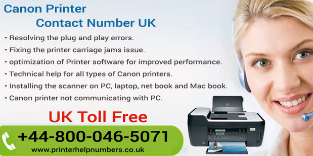 Canon Printer Support0800-046-5071 Number UK
