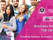 Business and management top up degree in London