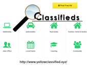 Post free classified ads in UK