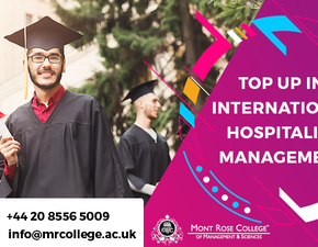 Top Up in International Hospitality Management Course