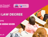 Find the LLB Hons Law course in UK
