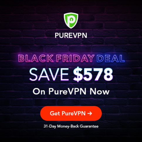 Save $578 on PureVPN 5 Year Deal