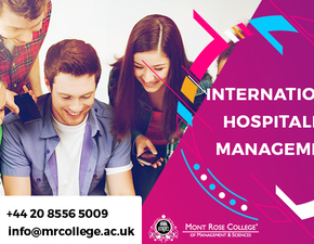 Get the top up in international hospitality management