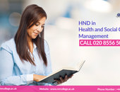 HND health and social care courses in London, UK