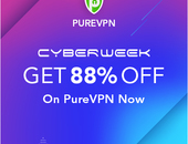 PureVPN Cyber Monday Deal @ 88% OFF - £1 per month