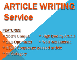 Quality blog writing services