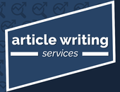 Blog article writing service from £5