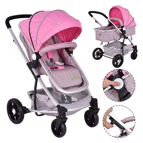 Bugaboo Donkey Mono Stroller in Pink