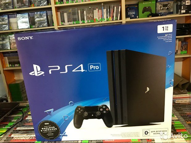Sony Ps4 Pro 1tb game console